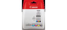 Multipack Inkjet originale Canon CLI-571 CYANO/MAGENTA/YELLOW/BLACK