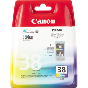 Cart. Inkjet originale CANON CL-38 Color