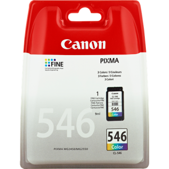 Cart. Inkjet originale CANON CL-546 Color