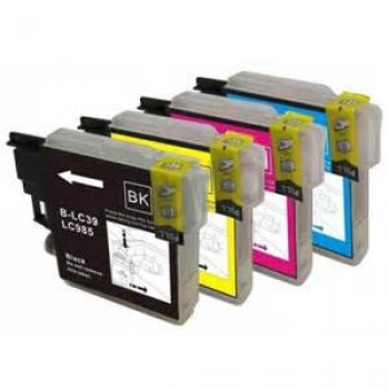 MULTIPACK INKJET COMPATIBILE BROTHER LC985 BK/CY/M/Y * 10PZ
