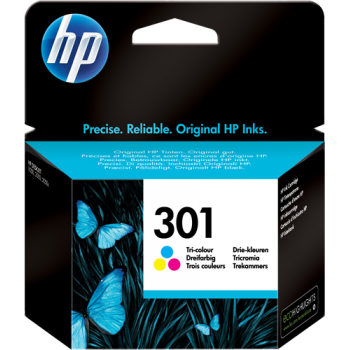 Cart. Inkjet originale HP 301 Color