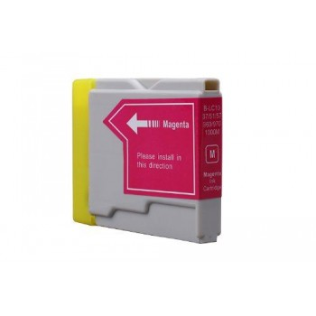 CART.INKJET COMPATIBILE BROTHER LC1000 MAGENTA