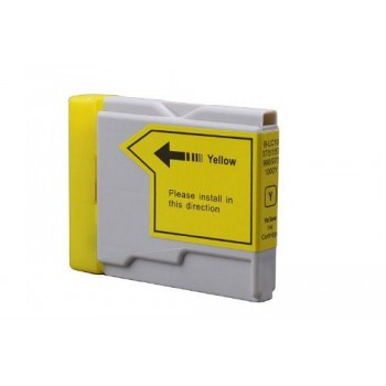 CART.INKJET COMPATIBILE BROTHER LC1000 YELLOW