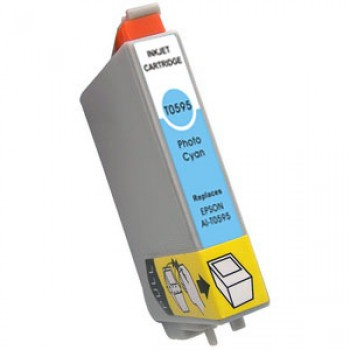 CART. INKJET COMPATIBILE EPSON T0595 LIGHT CYANO
