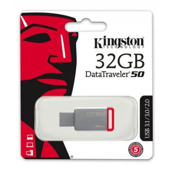 PENDRIVE USB 3.1 KINGSTON 32GB DT50