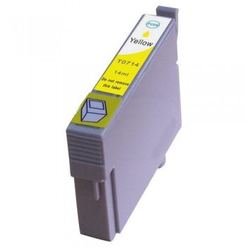 CART. INKJET COMPATIBILE EPSON T0714 YELLOW