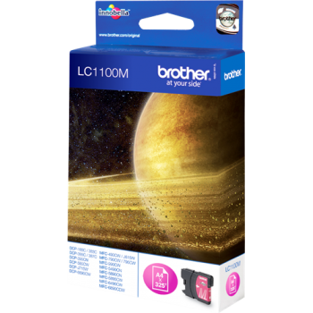 Cart. Inkjet originale Brother LC-1100 Magenta